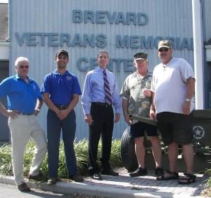 Ken Rhoden with Veteran Supporters 2012