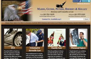Legal Eagles: Mario, Gunde, Peters, Rhoden & Kelley